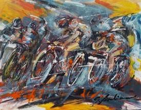 La course à vélo
